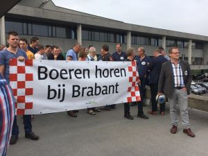 Massaal protest in Den Bosch