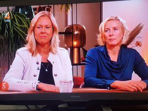Hennie de Haan bij 5 Uur Live RTL4