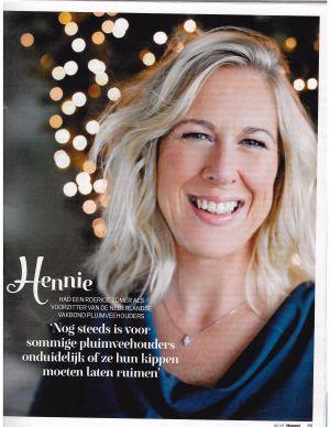 Hennie de Haan in Margriet