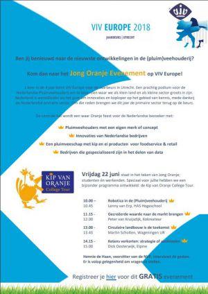 Hennie de Haan presenteert College Tour tijdens VIV op 22-6-2018